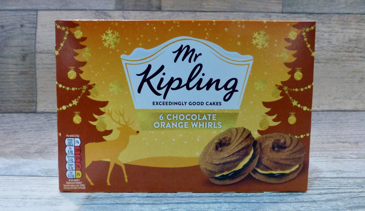 Mr Kipling Chocolate Orange Whirls