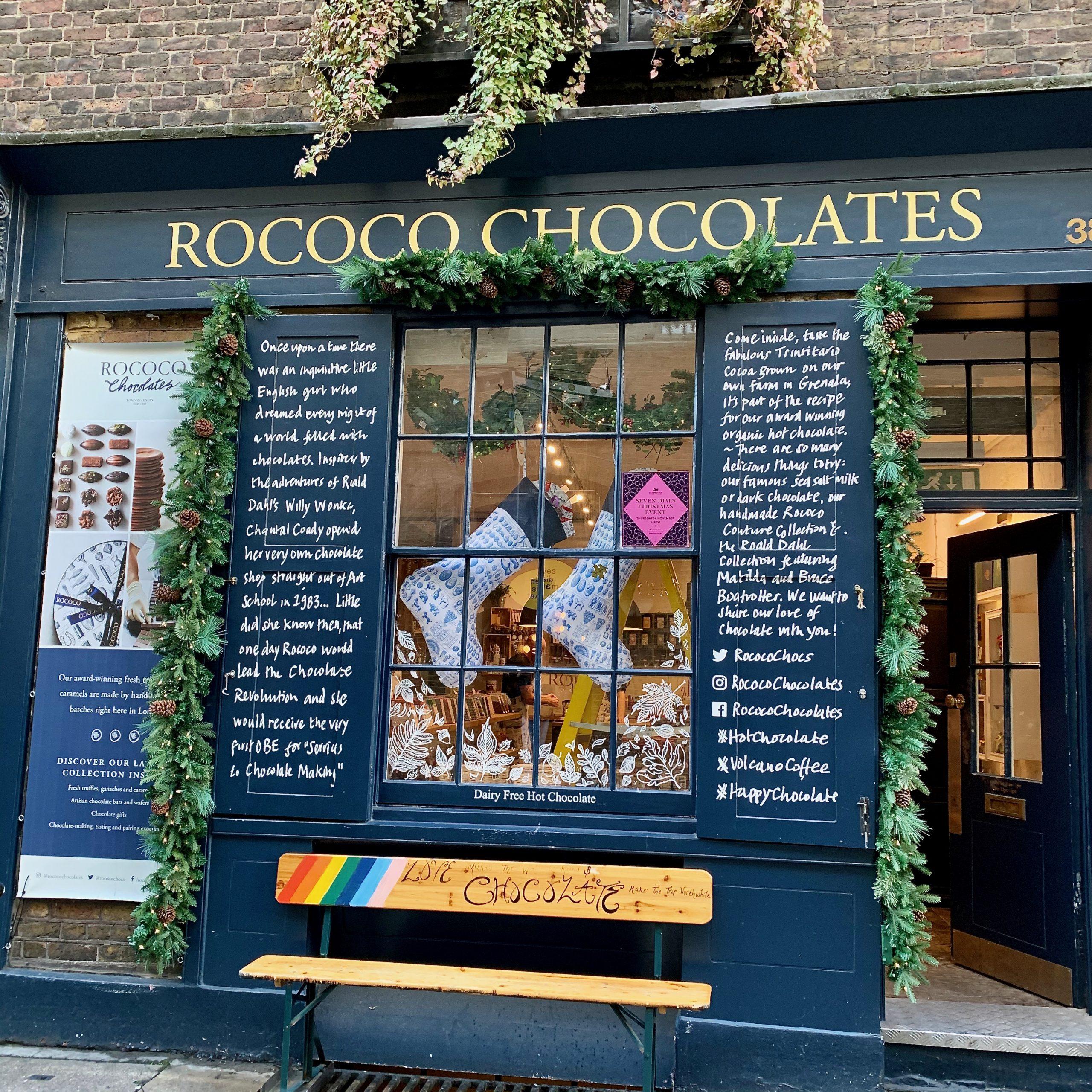 Rococo Chocolates Covent Garden