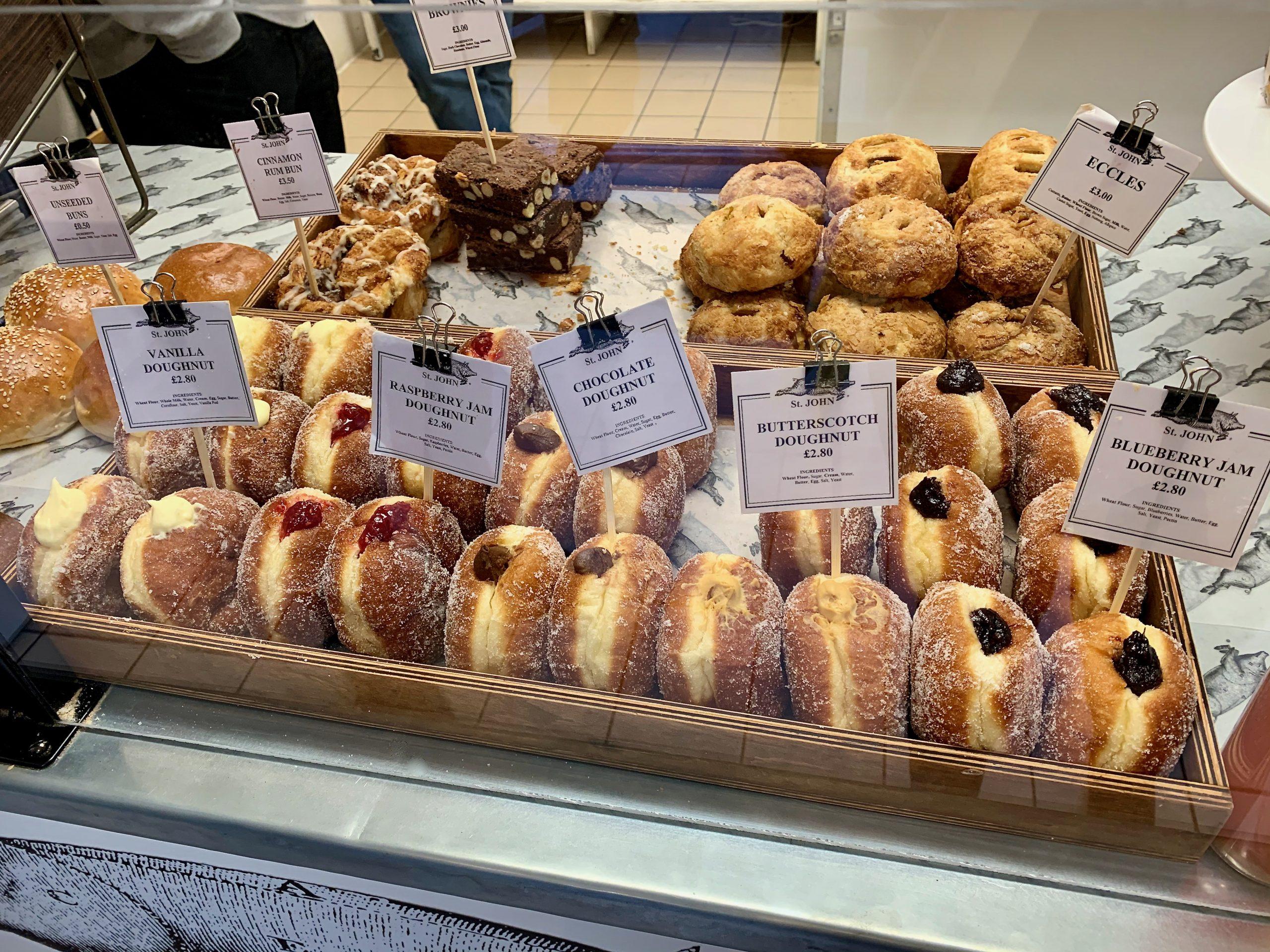 St John's Bakery Covent Garden