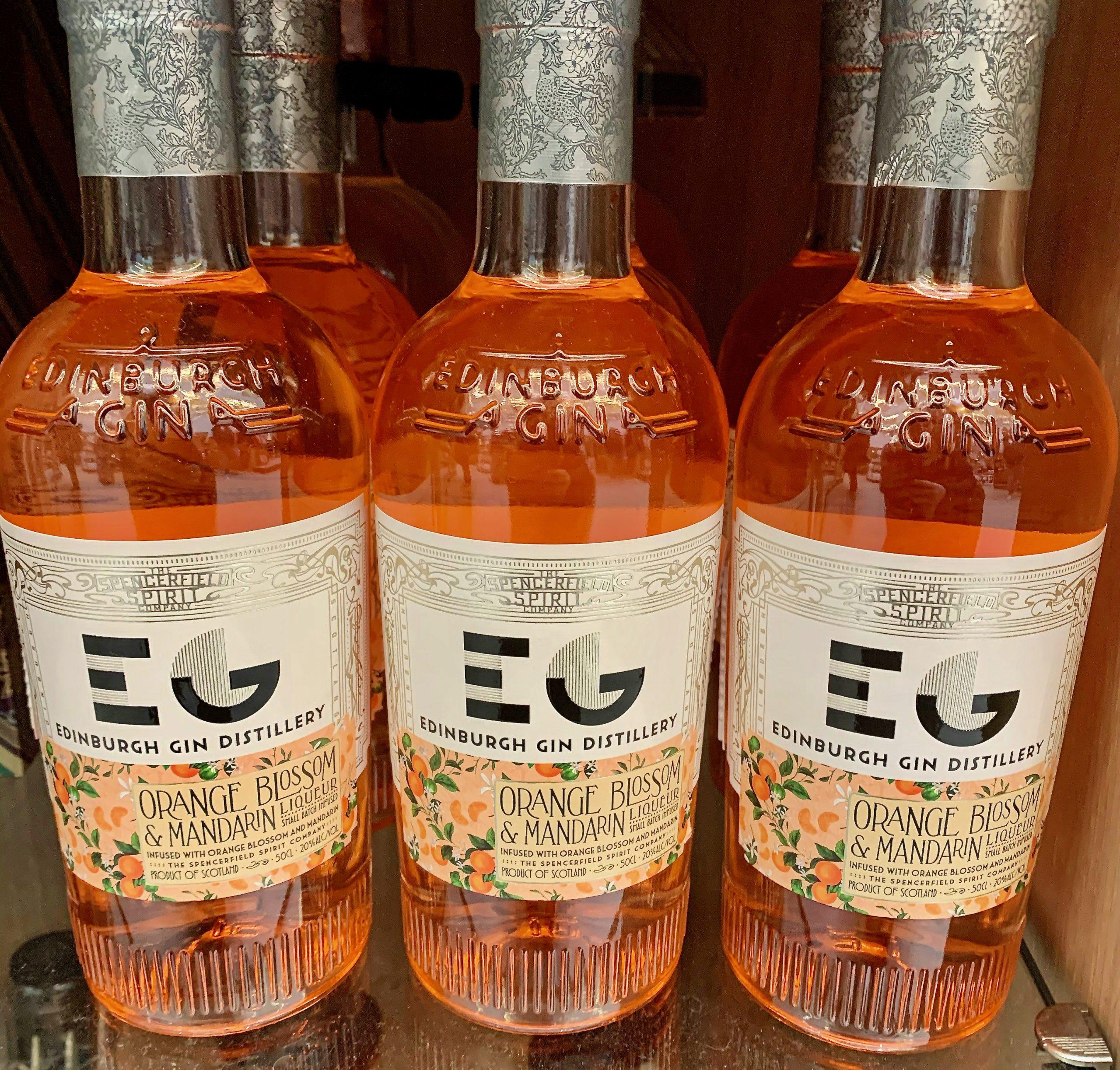 Edinburgh Gin Orange Blossom and Mandarin Gin Liqueur
