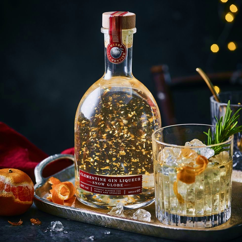 MARKS AND SPENCER SNOW GLOBE GIN