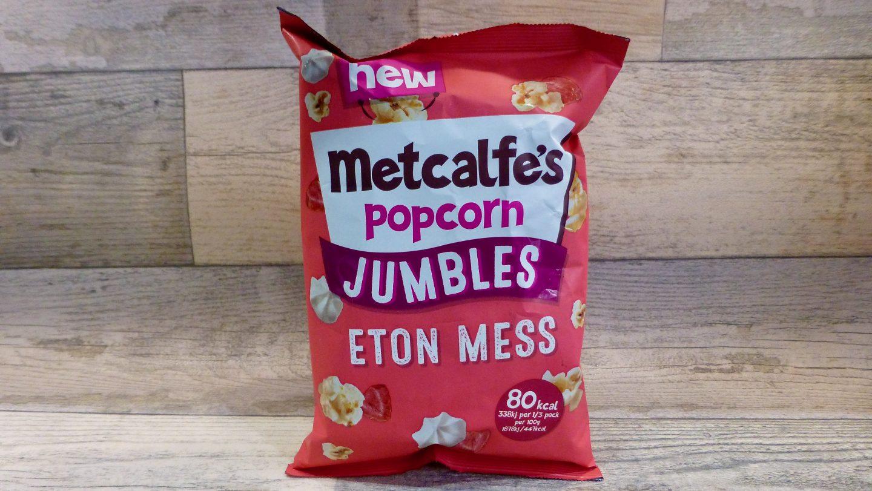 Metcalfe's Jumbles Eton Mess Popcorn