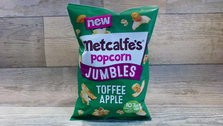 Metcalfe's Jumbles Toffee Apple Popcorn
