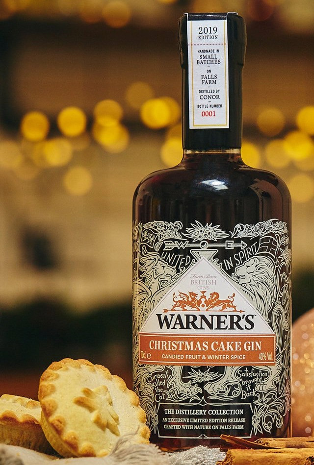 WARNERS-CHRISTMAS-CAKE-GIN Gin Ideas to Buy Gift and Drink