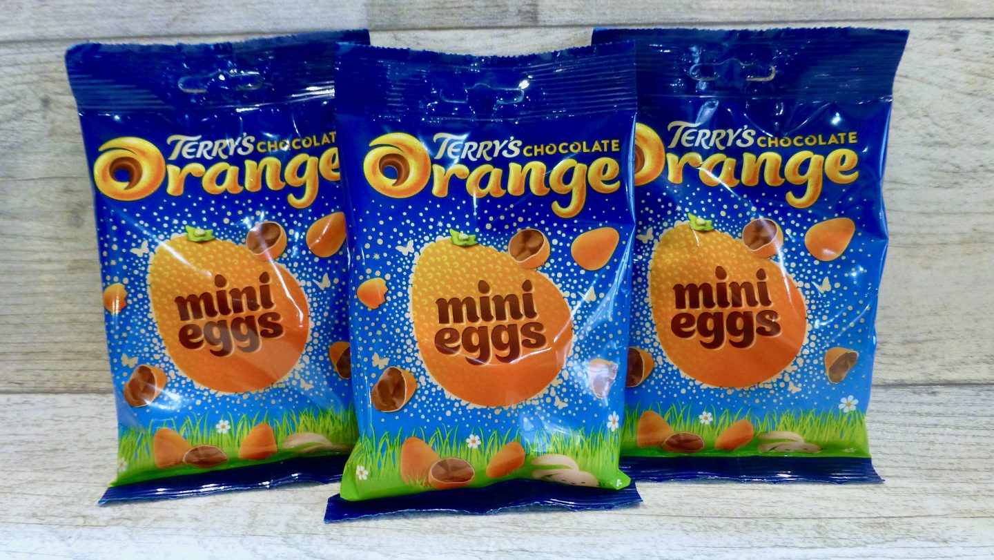 Terry's Chocolate Orange Mini Eggs