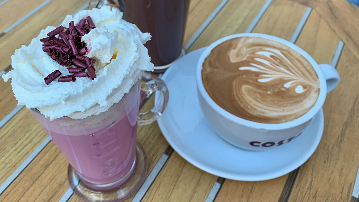 Costa Ruby Hot Chocolate