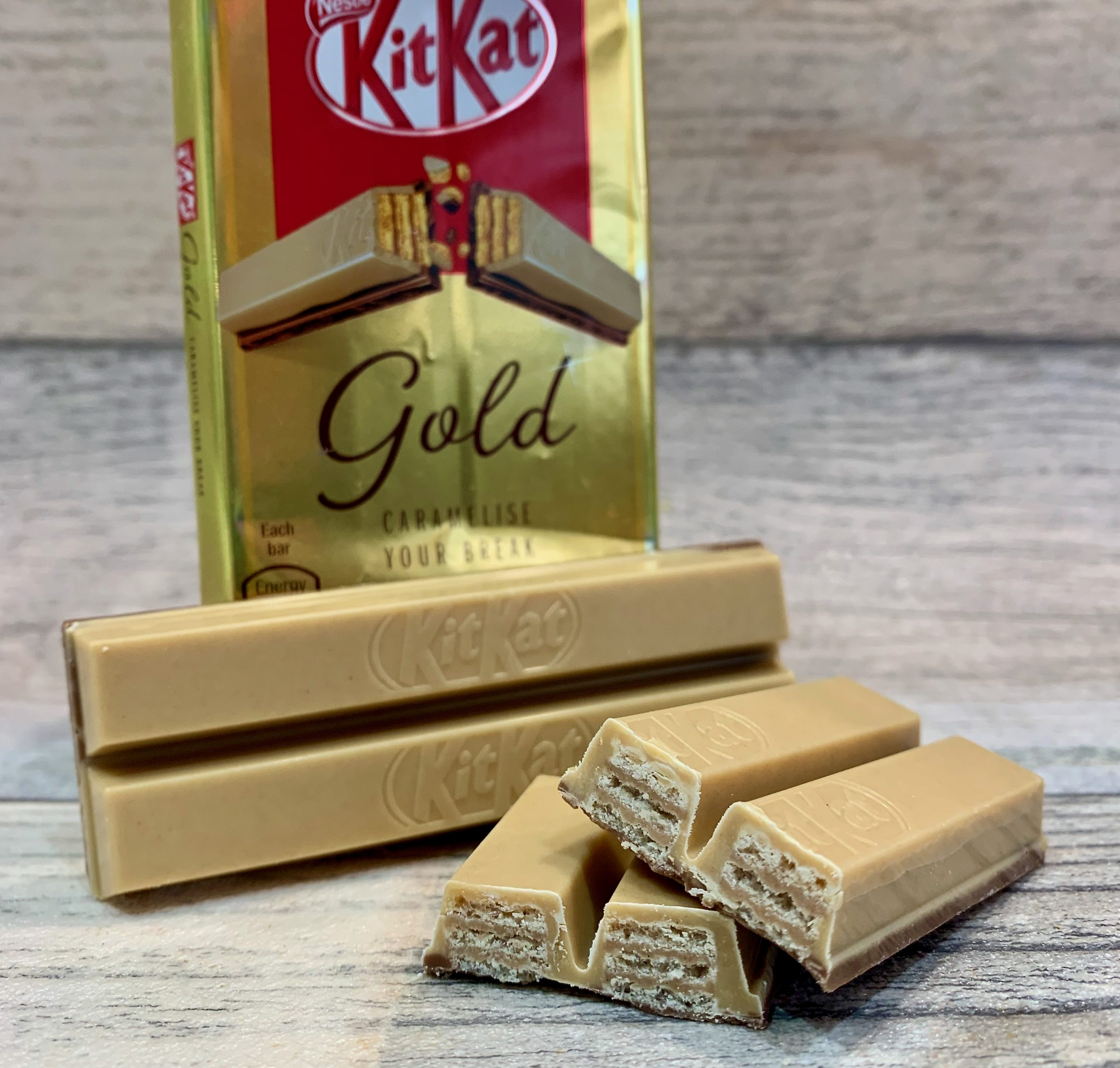 KitKat Gold Review Caramelise Your Break