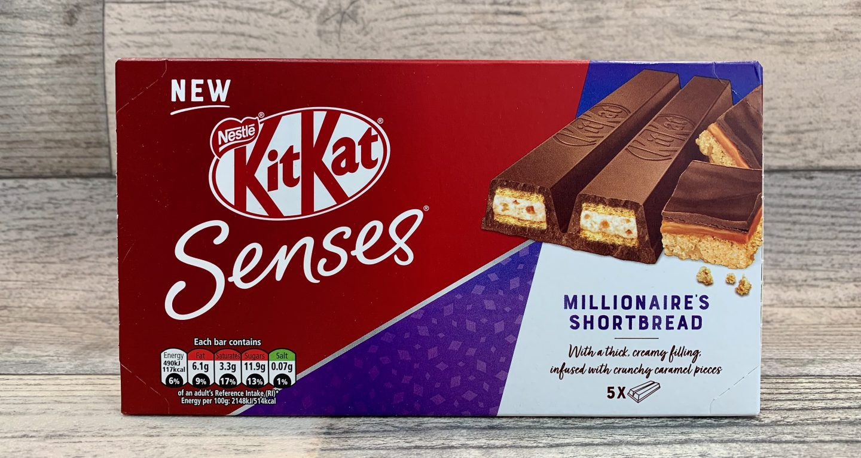 KitKat Senses Millionaires Shortbread