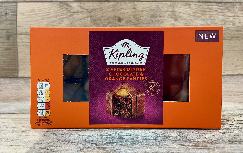 Mr Kipling After Dinner Chocolate Orange Fancies