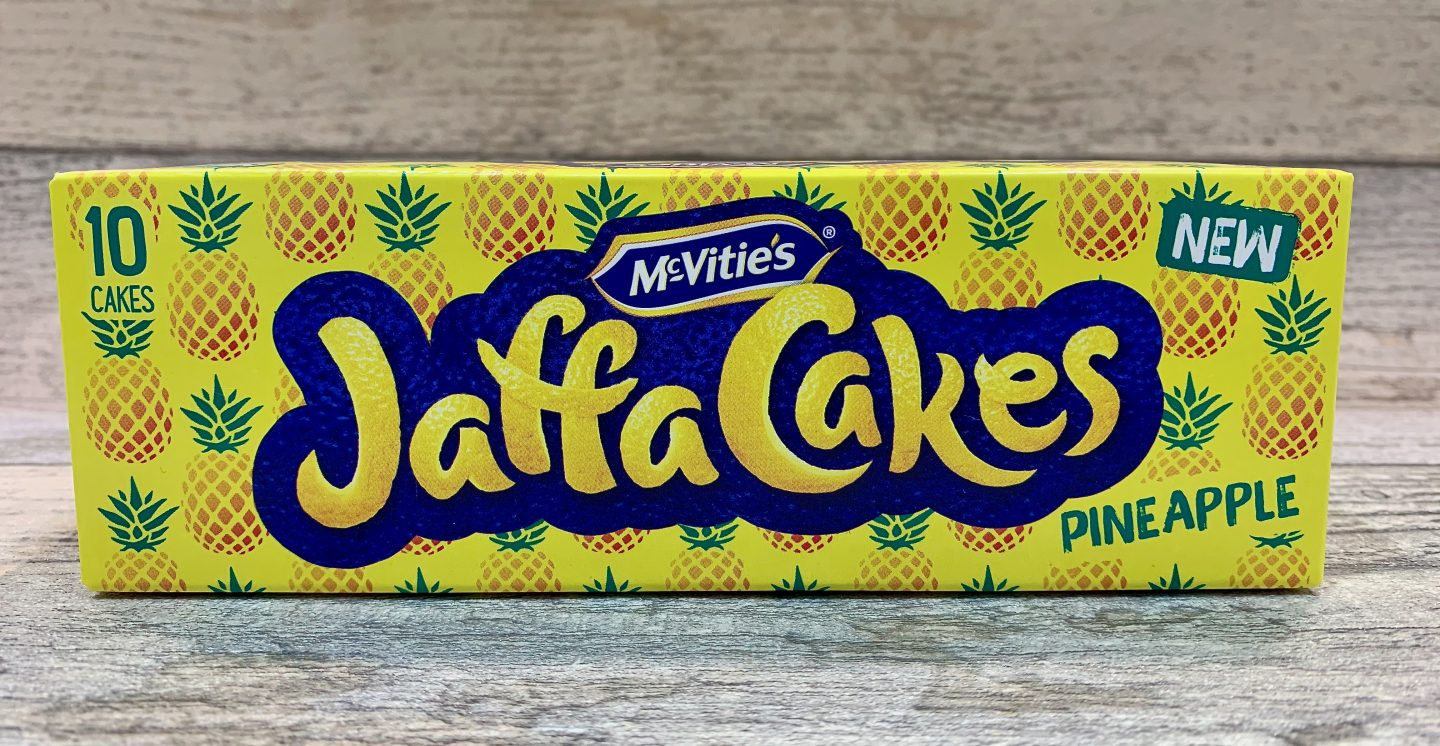 McVities's Pineapple Jaffa Cakes