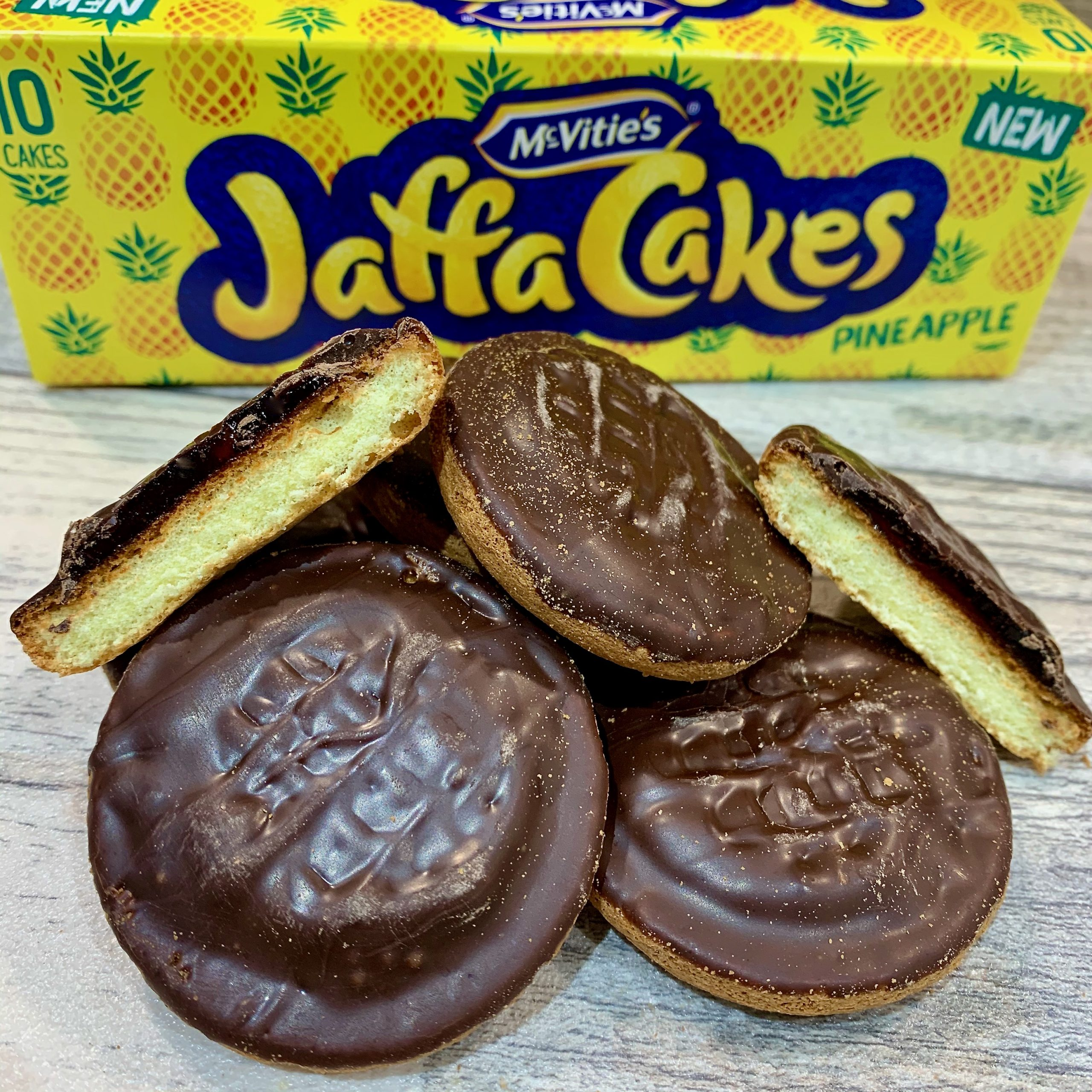 Pineapple Jaffa Cakes