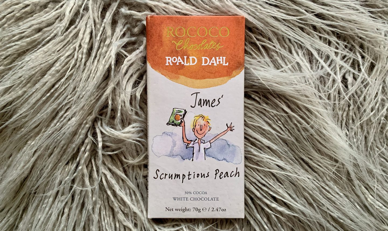 Rococo Chocolates Roald Dahl James' Scrumptious Peach