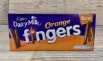 Cadbury Orange Chocolate Fingers Review