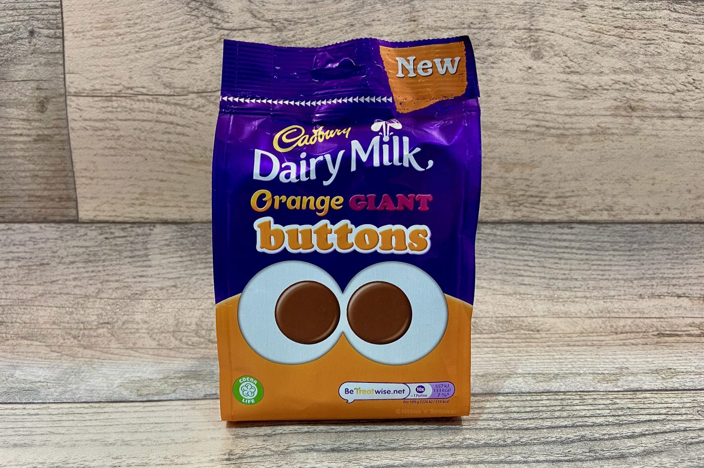 Cadbury Orange Giant Buttons Review
