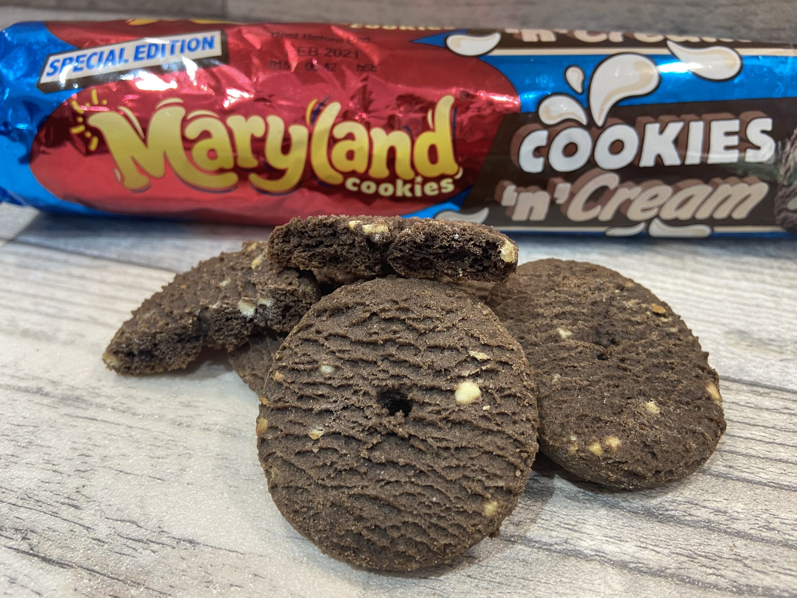 Maryland Cookies 'n' Cream Cookies