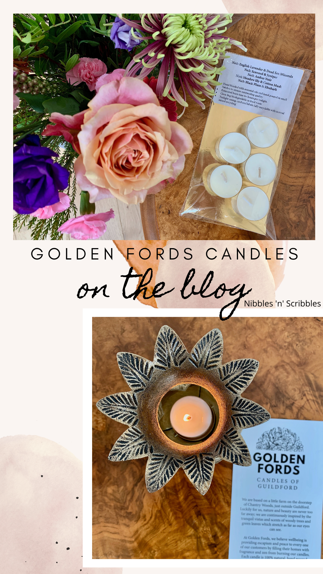 Pin - Golden Fords Candles Review Nibbles n Scribbles