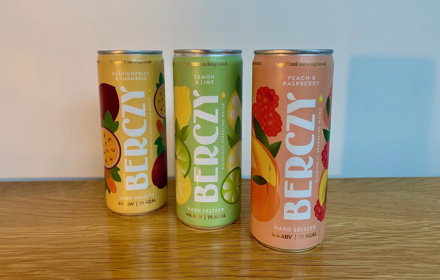 Berczy Alcoholic Sparkling Water Review