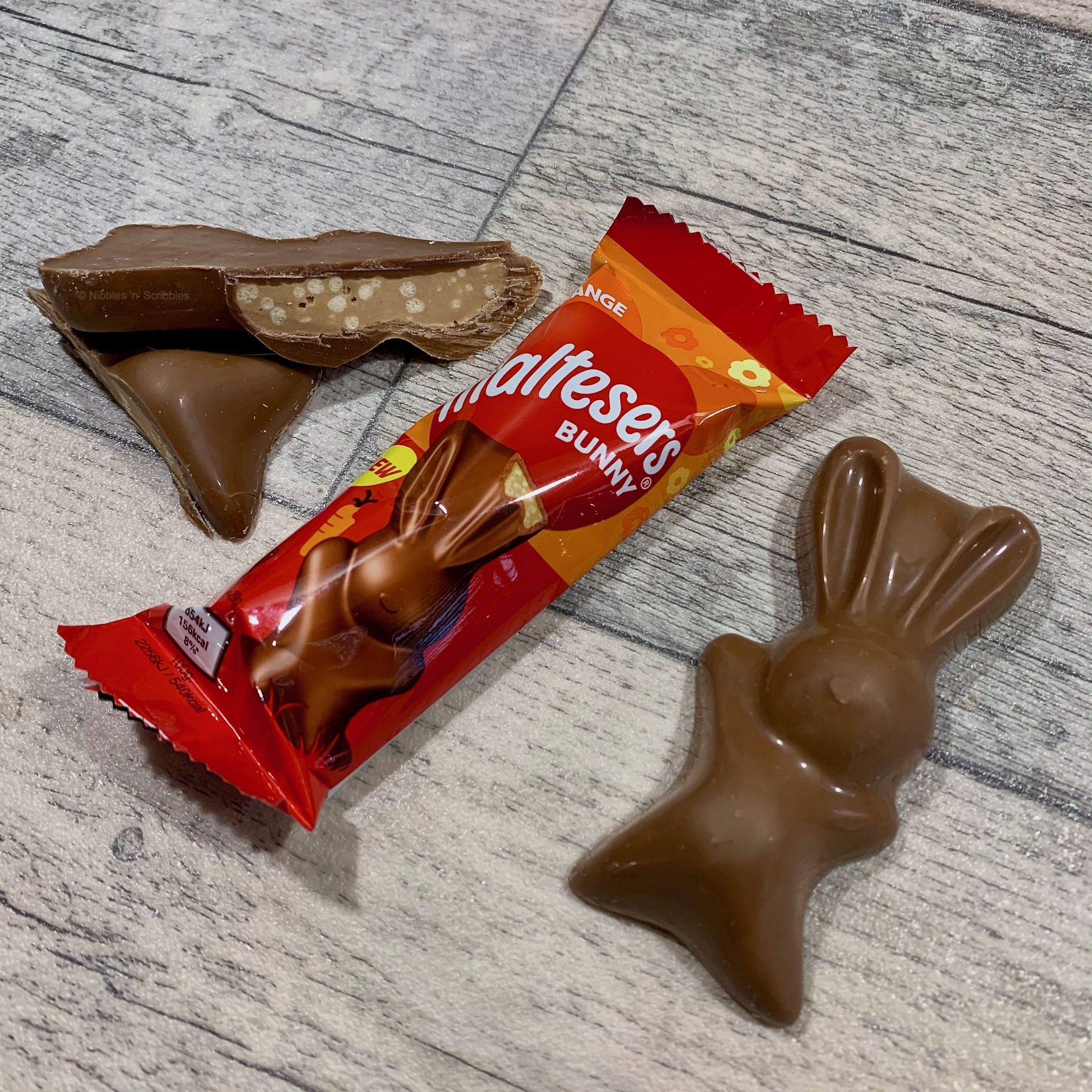 Maltesers Chocolate Orange Bunny Nibbles n Scribbes