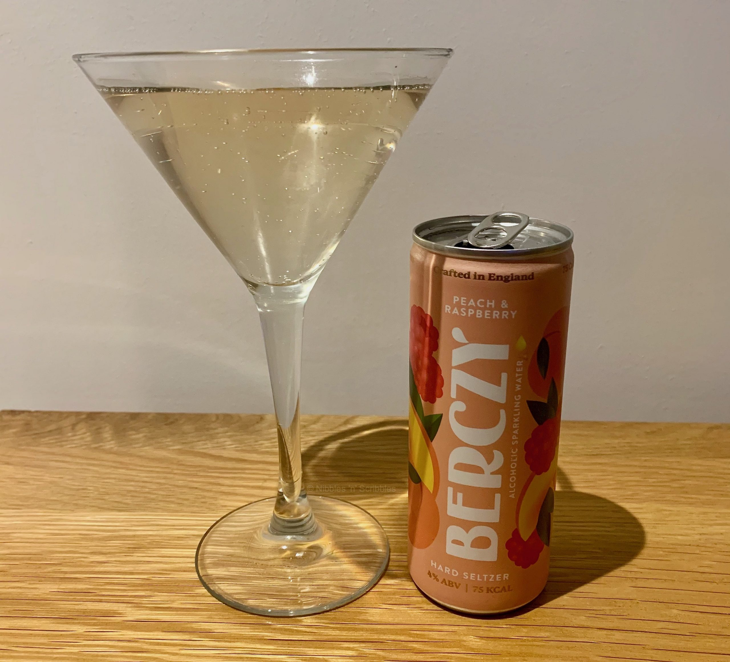 Peach and Raspberry Berczy Drinks Review