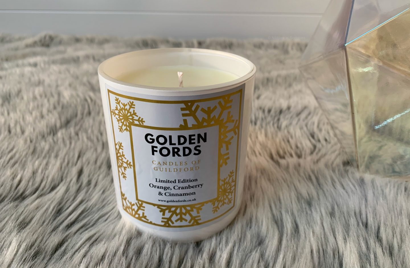 Golden Fords Orange, Cranberry and Cinnamon Candle *