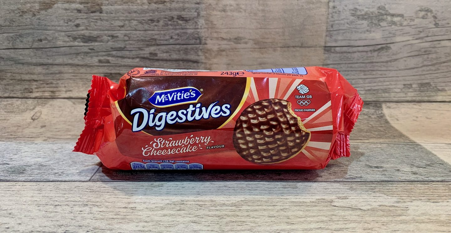 McVitie's Strawberry Cheesecake Digestives
