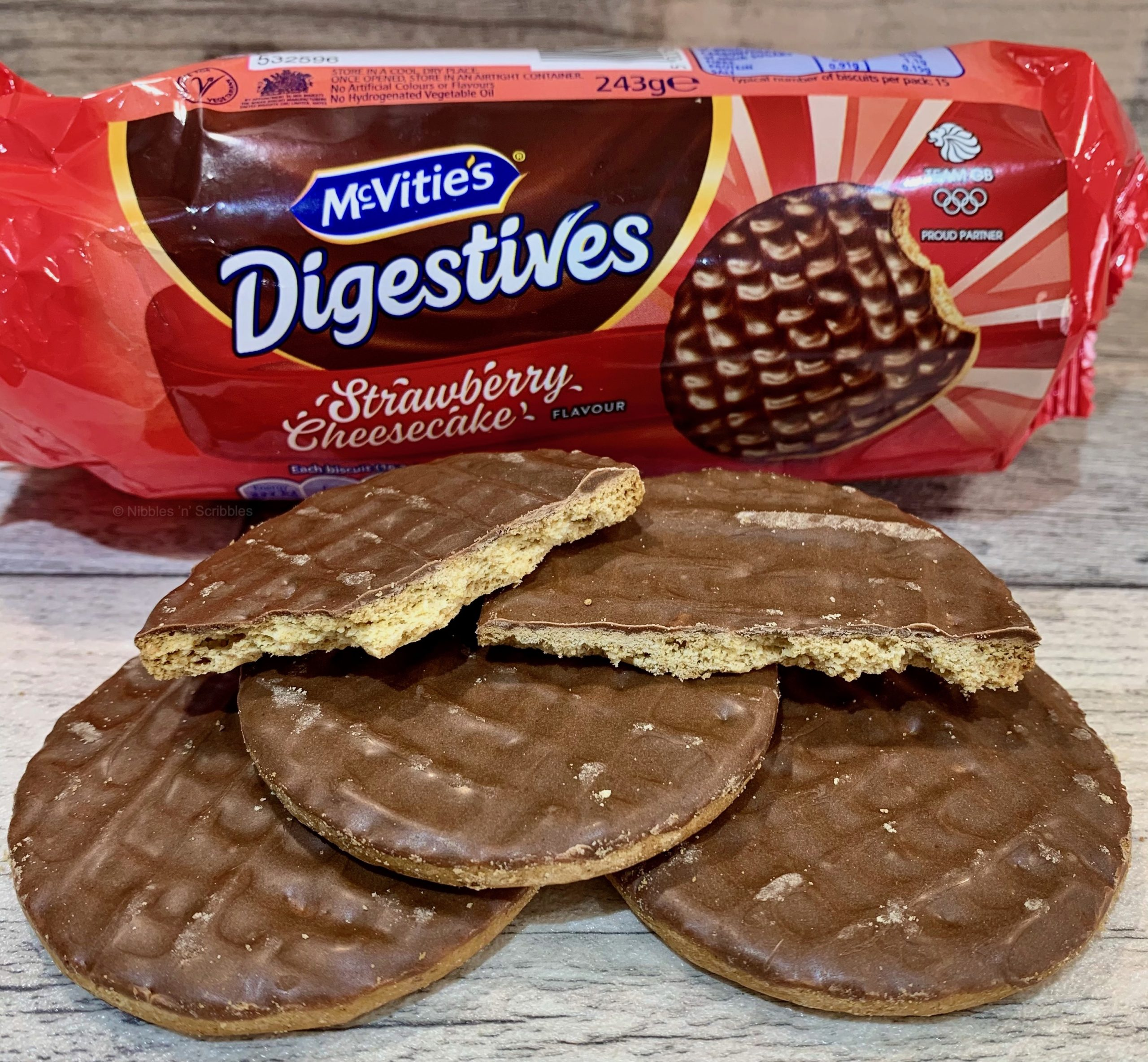 McVitie's Strawberry Cheesecake Digestives
