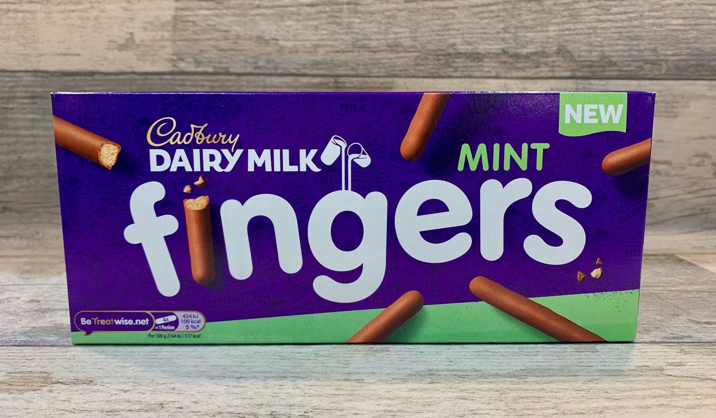 Cadbury Mint Chocolate Fingers